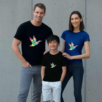 New Style Hippie Mallard Duck Rainbow t-shirt loose size 674xl Formal 15d t shirt Super gents t-shirts