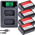 Комплект из 4 предметов NP-FW50 NP FW50 FW50 Батарея + ЖК-дисплей USB Dual Зарядное устройство для Sony A6000 5100 a3000 a35 A55 a7s II alpha 55 alpha 7 A72 A7R Nex7 NE