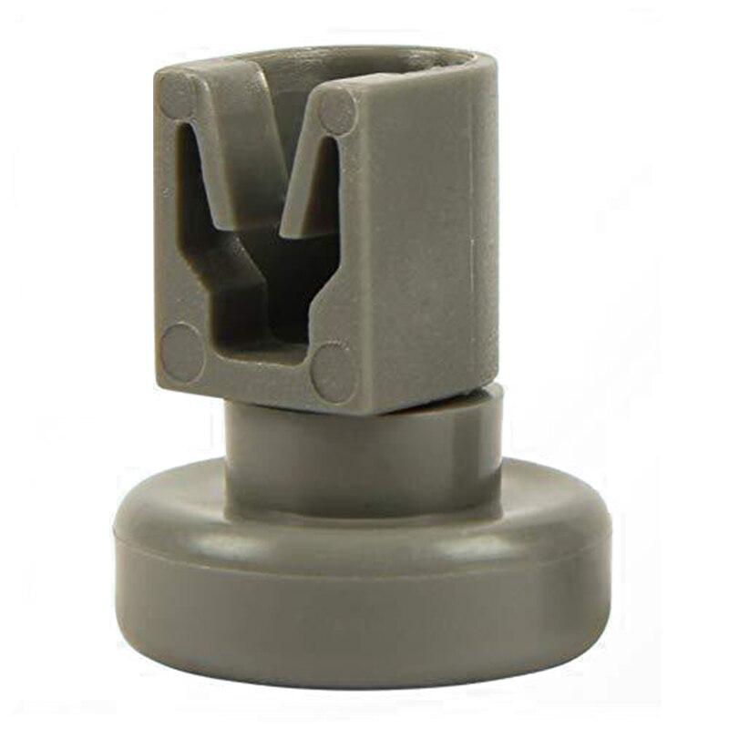4Pcs Lower Basket Wheel Grey Durable Plastic Roller Repairing Kit for Dishwasher