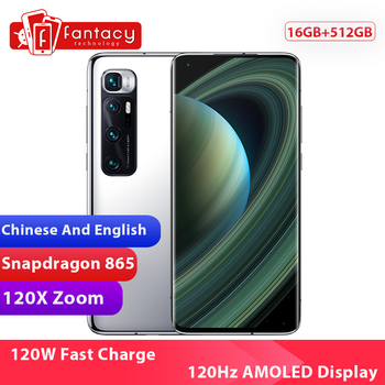 Chinese Version Xiaomi Mi 10 Ultra 16GB RAM 512GB ROM Smartphone Snapdragon 865 Octa Core 48MP 120X Zoom Camera 120Hz Display