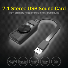 External-Sound-Card Microphone Audio-Interface Headset Gamer Gaming Profession Computer