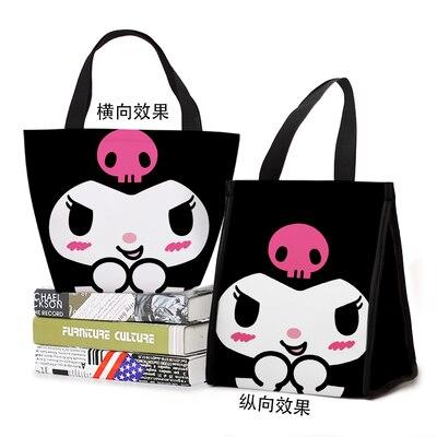 Lismo kuromi estilo moda personalizado almoço sacos