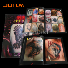 1pc A4 Size Tattoo Flash Book Sketch Outline Eagle HAWK Gongbi Painting Reference Free Shipping fashion design tattoo book magzine a4 size for tattoo equipment 124 page