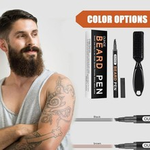 Beard-Pen Pencil Beauty-Beard And Brush Moustache Tip Hair-Shaping-Tools 4-Fork Coloring