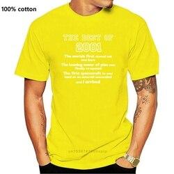 2001 16th Birthday T Shirt Gift for 16 Year Old Boys / Girls Men'S T-Shirts Summer Style Fashion Swag Men Summer Fashion