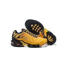 Pacote de ar max mais tn franquência Schnike jaune noir esporte chaussures hommes chaussures de curso confortável légères
