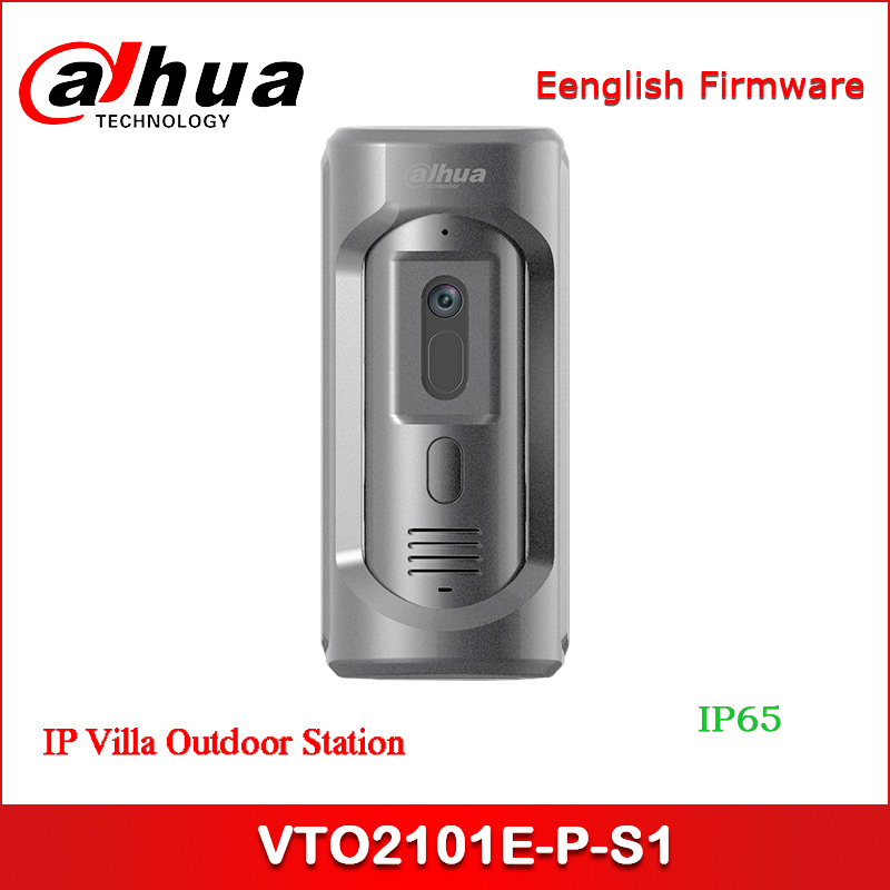 Dahua DHI-VTO2101E-P-S1 IP Villa Outdoor Station VTO2101E-P Upgrade Model , Zinc Alloy Panel, IP65,IK10  Intercom System