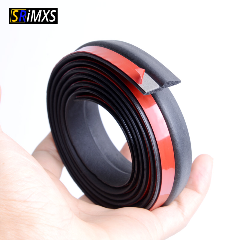 SRIMXS Z Type Auto Rubber Seals Strip EPDM Sound Insulation Anti-dust Waterproof Seal For Car Window Door Engine Edge