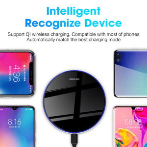 Image 5 - DCAE 30W Qi Wireless Charger for iPhone 12 11 Pro Max Mini X XS 8 XR Type C Fast Charging Pad For Samsung Note 20 10 S20 S10 S9