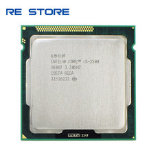 Intel i5 2500 Processor 3.3GHz 6MB L3 Cache Quad-Core TDP 95W LGA1155 Desktop CPU(China)