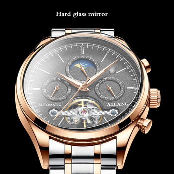 Ailang 2019 new automatic watch male mechanical watch genuine brand student waterproof green water ghost men's watch
