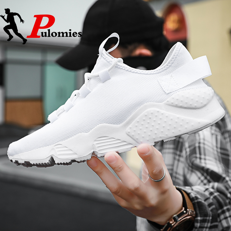 2020 New Men Shoes Sneakers Shoes Men Casual Breathable Mesh Sneakers Platform Sneakers Men Sport Shoes Running Shoes Size 13