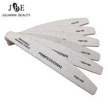 5 sztuk/partia profesjonalne pilniki do paznokci Nail Art szlifowanie pliki polerowanie Curve Manicure narzędzia zestaw 100/180 paznokci bufor diagnostyczne-tool