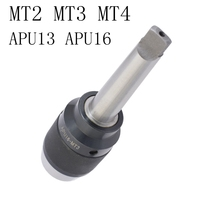 Drill-Chuck MT2 Connecting Milling-Machine 1-13mm MT3 Mta-Self-Tightening for Mohs MT4