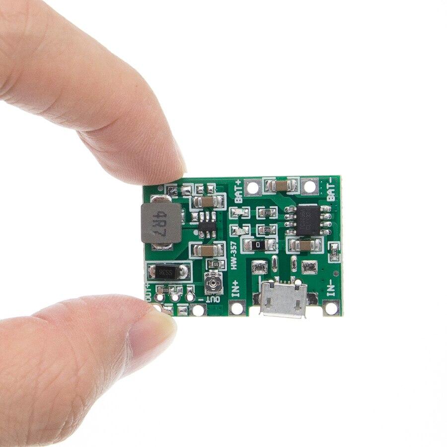 USB Lithium 3.7V Battery Charging Module 4.2V Boost Step Up 5V 9V 12V 24V DJ