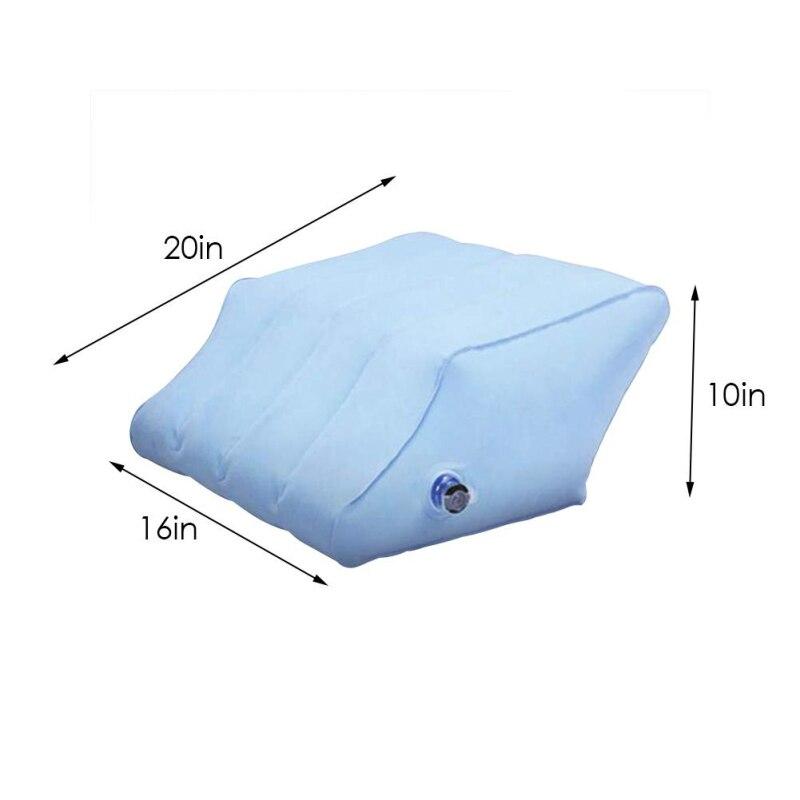Dropship-Inflatable-Leg-Pillow-Bed-Wedge-Pillow-Leg-Elevation-Back-Lumbar-Support-Cushions-Waist-Support-Pad (4)