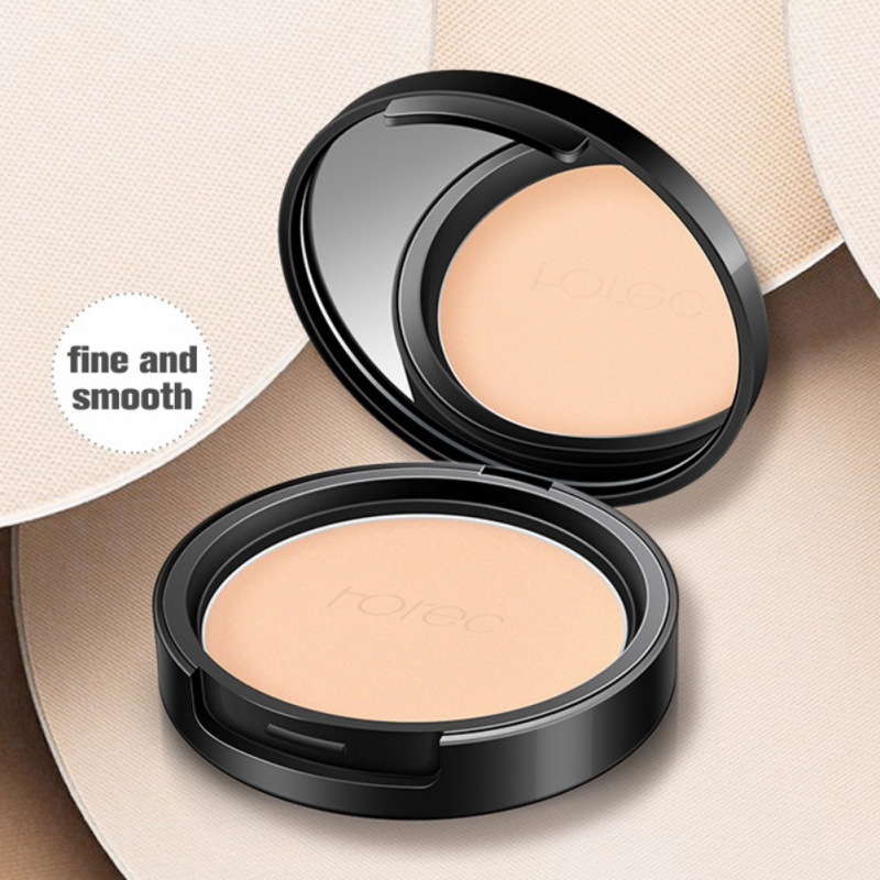 Mineral Pressed Face Powder Concealer Base Makeup Performance Wear Powder Foundation Compact Powder Makeup image