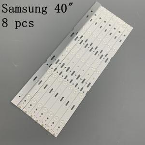 Image 5 - 8pcs 428mm LED תאורה אחורית רצועת 5 נוריות לסם סונג 40 אינץ טלוויזיה 40 LB M520 40VLE4421BF סם SUNG_2013ARC40_3228N1 40VLE6520BL