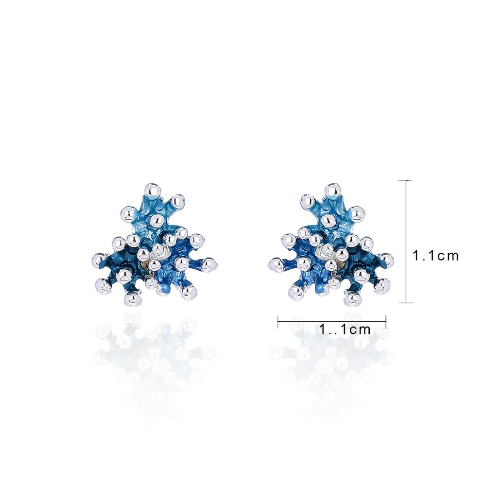 Cring Coco 2020 Fashion Metal Coral Earrings for Women Classic Temperament Earring Accessories Girl Stud Earring Jewelry Lady