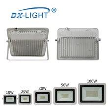 Водонепроницаемый IP68 Светодиодный светильник 10 Вт 20 Вт 30 Вт 50 Вт 100 Вт инженерный светильник 220 в 230 в 240 В светодиодный наружный светильник Настенный светильник прожектор