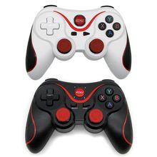 Gen jogo x3 controlador de jogo inteligente sem fio joystick bluetooth android gamepad jogos controle remoto t3/s8 telefone pc tablet