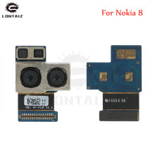 цена на 1pcs Original Tested Working Main Big Rear Back Camera Module For Nokia 8 Replacement Phone Flex Cable Parts