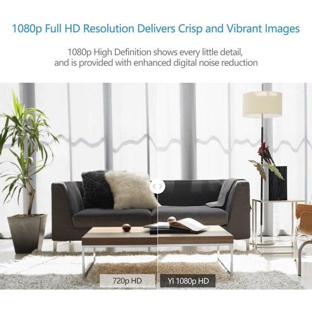 YI Macchina Fotografica A Casa 3 1080P HD AI Smart Home, Casa Intelligente A Base di Telecamere di Sicurezza Wireless IP Cam di Visione Notturna Ufficio VERSIONE di Ue android YI Nube 3