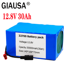 32700 Lifepo4 Battery Pack 4S3P 12.8V 25Ah/ 30Ah 4S 40A 100A Balanced BMS for Electric Boat and Uninterrupted Power Supply 12V