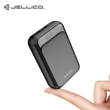 Jellico MINI Power Bank 10000mAh QC3.0 แบบพกพา USB Type C PD Fast Charger Powerbank สำหรับ iPhone Xiaomi แบตเตอรี่