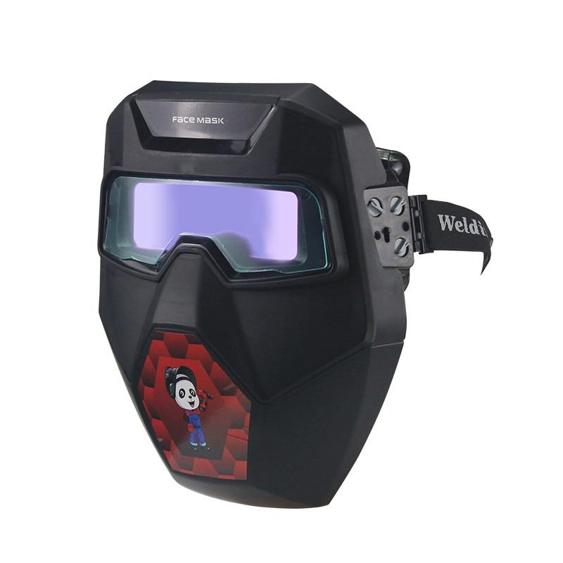 Auto Welding With Mask For Plasma Wide Helmet Glasses R01 Darkening Welder Shade TX Welding Goggles TIG MIG Cut Welding ARC