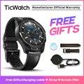 Смарт-часы TicWatch Pro для мужчин Android умные часы NFC Pay для мужчин t Google Play Многоязычная поддержка IP68 Водонепроницаемый TicWatch официальный
