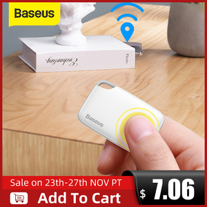 Image 1 - Baseusワイヤレススマート失われたアラームトラッカーキーファインダー子バッグ財布ファインダーアプリgps記録アンチロストアラームタグ