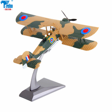 Terebo 1:72 swordfish torpedo attack machine model World War II alloy aircraft fighter military ornaments collection gift