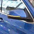Светодиодный динамический поворотов последовательного боковое зеркало индикатор светильник для BMW X1 F48 2016-2018 2 серии F45 F46 X2 F39