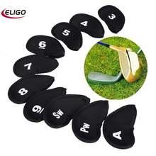 10 шт Гольф клуб золото защиты головы сумка для гольфа спортивные
