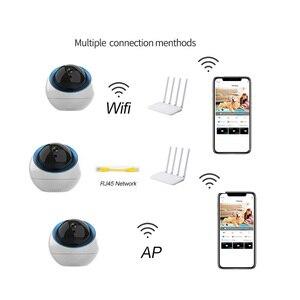 Image 4 - Dome Wireless Ip Camera indoor 1mp 3MP Home Ptz Surveillance Cameras cam Wifi CCTV Camara  for  Wifi Exterior
