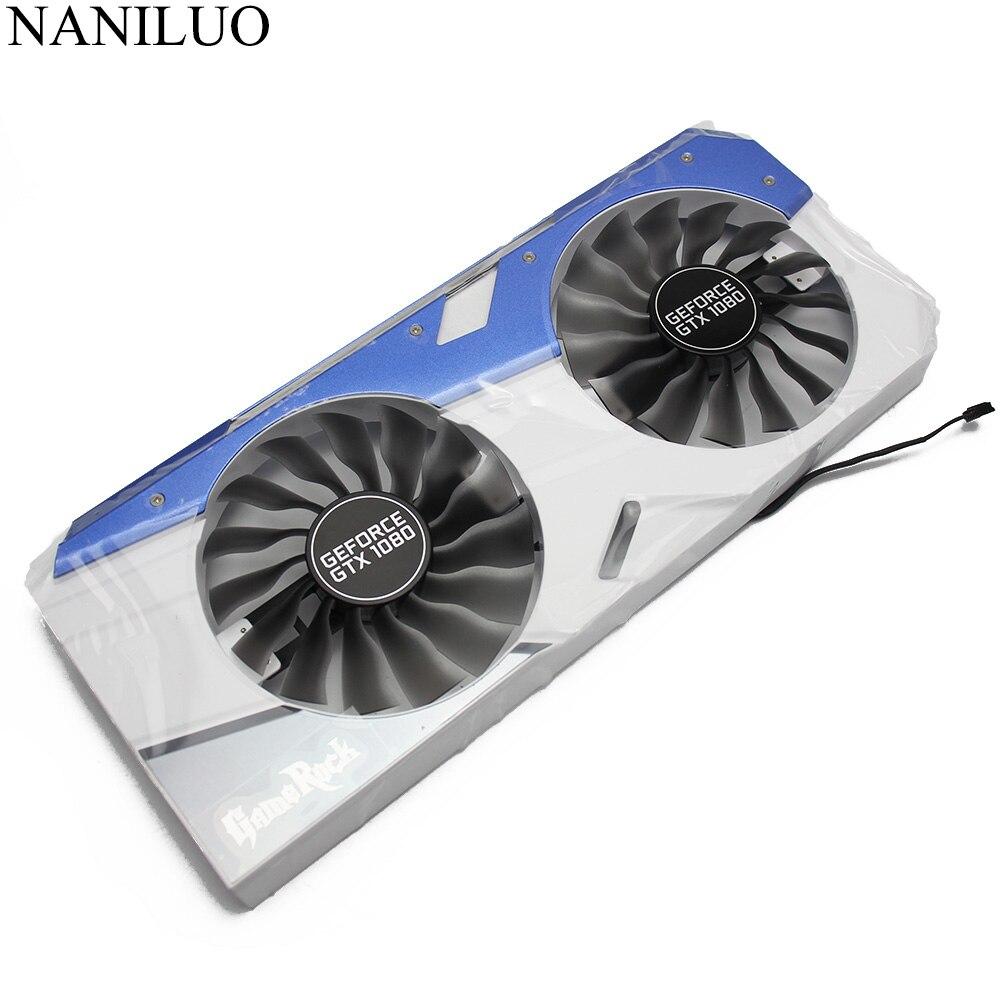 FD10015H12S Fan GTX1080 GTX1070 GPU Card Cooler Palit GTX 1080 1070 Cards FANS