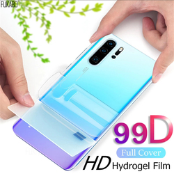 99D Front Back Hydrogel Film For Huawei P30 P20 P40 Lite Pro Nova 5t Screen Protector For Honor Mate 20 30 Lite Pro Not Glass
