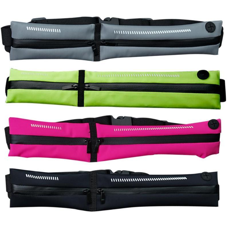 Hot Sale Waist Belt Bag Wear-resistant Waist Belt Bag Waterproof Running Jogging Cycling Sports Fitness Phone Bag Pouch