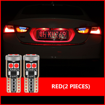 10PCS T10 W5W LED Canbus Car Map Door License Plate Lights For Renault Duster Megane 2 3 Logan Clio 4 2 Captur Sandero Laguna 2 image