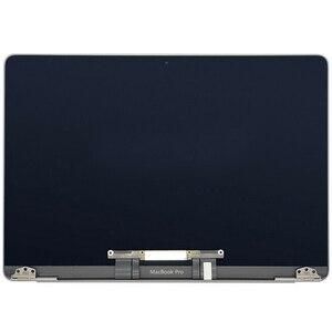 Tela de substituição a1706 a1708, tela cinza/prata para macbook pro retina emc 3163 3071