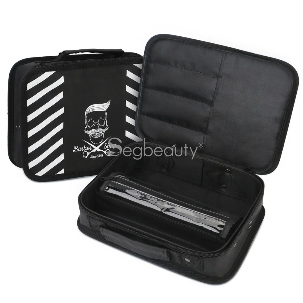 Professional Salon Scissor Bag Hairdressing Tool Clippers Multi-function Storage Organizer Bags Hair Scissors Tool Makeup Case