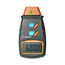 цена на Universal Automatic Digital Laser Photo Tachometer Non Contact RPM Tach Digital Laser Tachometer Speedometer Speed Gauge Engine
