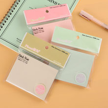 Cute Cartoon Note Sticker Colorful Memo Pad Sticky Notes Post Stationery Index Planner Sticker Notepads Office School Supplies(China)
