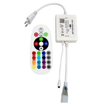 Listwy RGB LED s kontroler inteligentne Wifi kontroler 24 przyciski Led Light pilot do listwy RGB LED Light (wtyczka EU) tanie i dobre opinie CN (pochodzenie)
