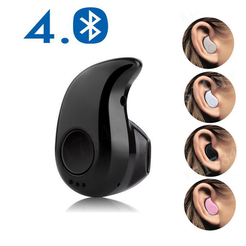 Mini Wireless Bluetooth Earphone in Ear Sport with Mic Handsfree Headset Earbuds for All Phone For Samsung Huawei Xiaomi Android(China)