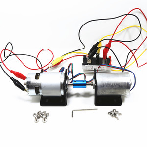 Generati Generator Miniature 12V 24V into 220v Double Bearing 3-phase Brushless DC Motor DIY Dynamo