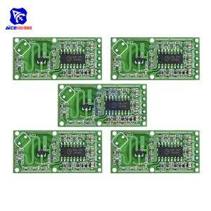 Image 1 - 5 шт./Лот, микроволновый датчик обнаружения человека, 3,3 В