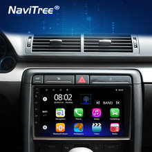 Android 2G + 32G 2 Din Auto Multimedia Player GPS Automotive Für Audi A4 B6 B7 S4 B7 b6 RS4 B7 SEAT Exeo unterstützung carplay