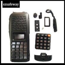 Boîtier de Radio bidirectionnel avec clavier, housse pour talkie walkie ICOM ic v82, accessoires